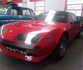 RENAULT ALPINE A310 V6 TURBO 150CV - 1977