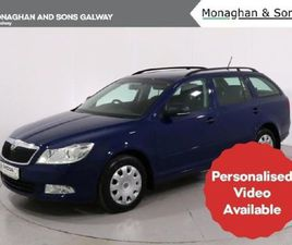 SKODA OCTAVIA COM ACTIVE 1.6 TDI 105HP 4DR FOR SALE IN GALWAY FOR €7,250 ON DONEDEAL