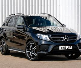 USED 2018 (18) MERCEDES-BENZ GLE GLE 250D 4MATIC AMG NIGHT ED PREM + 5DR 9G-TRONIC IN INVE