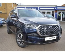 SSANGYONG REXTON ULTIMATE FOUR WHEEL DRIVE 2021