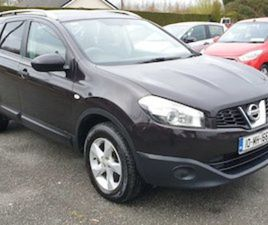 QASHQAI +2 MIDNIGHT PURPLE 7 SEATS FOR SALE IN KILDARE FOR €6250 ON DONEDEAL