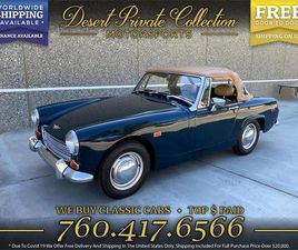 FOR SALE: 1969 AUSTIN-HEALEY SPRITE IN PALM DESERT , CALIFORNIA
