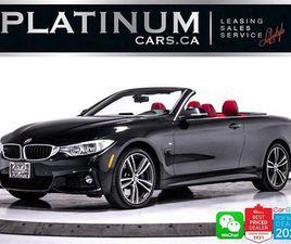 USED 2015 BMW 4 SERIES 435I XDRIVE, CONVERTIBLE, M-SPORT, NAV, CAM,HEATED