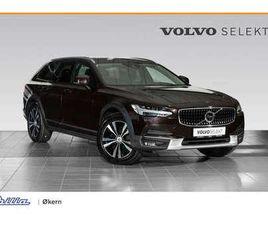 VOLVO V90 CROSS COUNTRY D4 AWD AUT. 360 KAMERA, HEAD UP, HENGERFESTE 200 HK,2020,32100 KM,