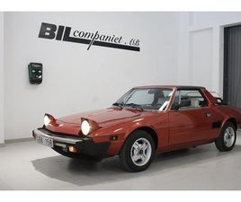FIAT X 1/9 FIVE SPEED 86HK LÅGMILARE (GBB158) - BYTBIL.COM ◊