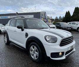 2018 MINI COUNTRYMAN 2.0TD COOPER D (S/S) AUTO - £13,995