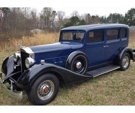 FOR SALE AT AUCTION: 1934 PACKARD CUSTOM IN GREENSBORO, NORTH CAROLINA