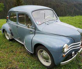 RENAULT 4CV KLEIN-/ KOMPAKTWAGEN, 1955, 39.800 KM, € 13.000,- - WILLHABEN
