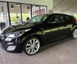 2011 HYUNDAI VELOSTER 1.6 GDI STYLE COUPE 6G 4D 83.000 KM KR 129.800