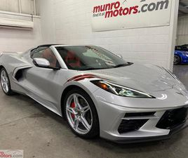 USED 2020 CHEVROLET CORVETTE STINGRAY CPE 2LT Z51 FRONT LIFT RED INT GT2 SEATS