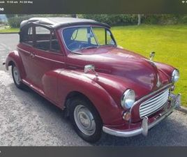 MORRIS MINOR FOR SALE IN ARMAGH FOR £3,950 ON DONEDEAL