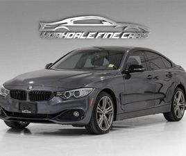 USED 2016 BMW 4 SERIES 428I XDRIVE GRAN COUPE, NAVI, CAM, RED LEATHER