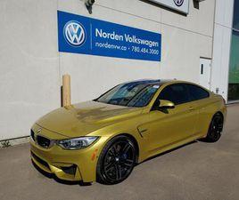 USED 2015 BMW M4 M4- AUSTIN YELLOW/DCT/CARBON FIBER