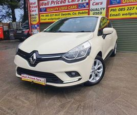 RENAULT CLIO IV DYNAMIQUE NAV 1.2 PETR 4DR FOR SALE IN DUBLIN FOR €11,750 ON DONEDEAL