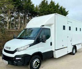 2016 IVECO DAILY 70C117 PRISON CELL VAN IDEAL CAMPER RECOVERY SPORTS MOTORHOME