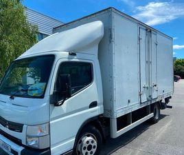 2014 MITSUBISHI CANTER 7.500 14FT BODY FOR SALE IN DUBLIN FOR €10,500 ON DONEDEAL