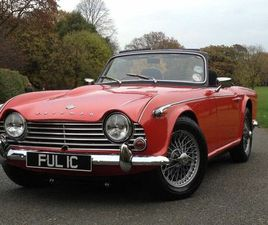 1965 TRIUMPH TR4A - £25,990