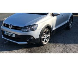 2013 VW POLO CROSS 1.2 TDI 75 BHP 5 DR HATCH