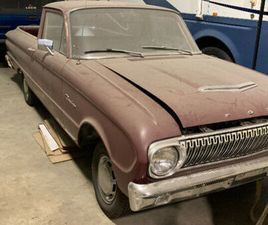 1963 RANCHERO | CLASSIC CARS | LONGUEUIL / SOUTH SHORE | KIJIJI