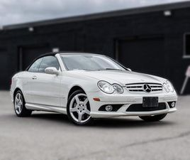 USED 2007 MERCEDES-BENZ CLK 550 CONVERTIBLE   AMG   CLEAN CARFAX   LOW KM