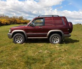 ISUZU TROOPER FOR SALE IN WEXFORD FOR €3,200 ON DONEDEAL