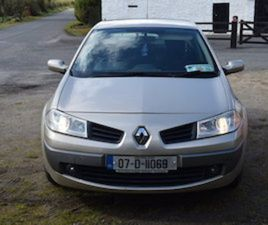 RENAULT MEGANE 1.4 2007 NCT 01- 22 TAX 05-21 FOR SALE IN ROSCOMMON FOR €1200 ON DONEDEAL