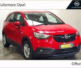 OPEL CROSSLAND X SC 1.6CDTI 99PS 5D FOR SALE IN OFFALY FOR €16900 ON DONEDEAL