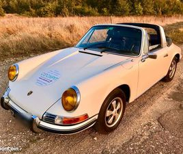 PORSCHE TARGA 912 SOFT WINDOW ORIGINE