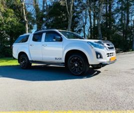 USED 2018 ISUZU D-MAX 1.9 BLADE DCB 4D 161 BHP NOT SPECIFIED 35,248 MILES IN WHITE FOR SAL
