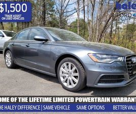 GRAY COLOR 2015 AUDI A6 PREMIUM PLUS FOR SALE IN CHESTER, VA 23831. VIN IS WAUFGAFC8FN0194