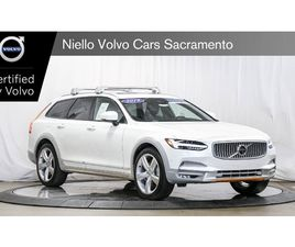 WHITE COLOR 2019 VOLVO V90 CROSS COUNTRY T6 FOR SALE IN SACRAMENTO, CA 95841. VIN IS YV4A2