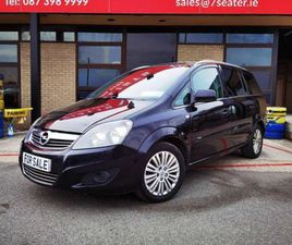 OPEL ZAFIRA CLUB 1.7 CDTI 110PS 5DR FOR SALE IN DUBLIN FOR €4,900 ON DONEDEAL