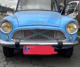 SIMCA ARONDE P60 1962