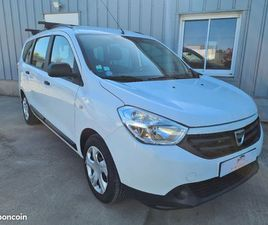DACIA LODGY 2014 1.6L MPI 80 CV 7 PLACES ESSENCE + GPL