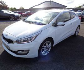 KIA PRO CEED 1.6 CRDI 3 DOOR. FOR SALE IN LAOIS FOR €11,750 ON DONEDEAL
