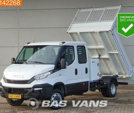 ② IVECO DAILY 35C14 KIPPER AIRCO CRUISE TREKHAAK BENNE TIPPER - CAMIONNETTES & UTILITAIRES
