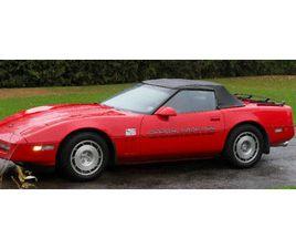 CORVETTE 1986 CONVERTIBLE RED PACER--STILL IN STORAGE | CLASSIC CARS | OTTAWA | KIJIJI