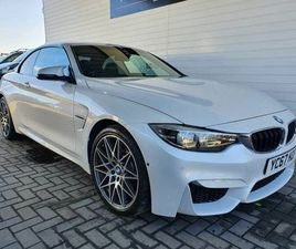 2017 BMW 4 SERIES 3.0 M4 (431BHP) (S/S) CONVERTIBLE M DCT - £37,950