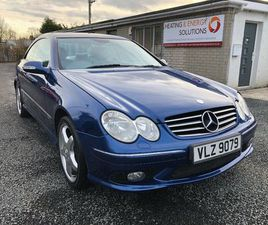 MERCEDES-BENZ, CLK, COUPE, 2005, SEMI-AUTO, 3199 (CC), 2 DOORS