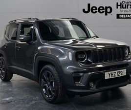 2021 JEEP RENEGADE 1.0 GSE 80TH ANNIVERSARY - £21,995