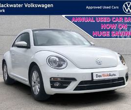 VOLKSWAGEN BEETLE BEETLE 1.2TSI 105BHP DESIGN WIT FOR SALE IN CORK FOR €23,995 ON DONEDEAL