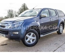 USED 2015 ISUZU D-MAX YUKON VISION DC T T NOT SPECIFIED 61,867 MILES IN BLUE FOR SALE | CA