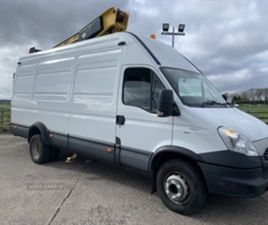USED 2012 IVECO DAILY 70 C17 NOT SPECIFIED 110,000 MILES IN WHITE FOR SALE | CARSITE
