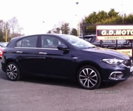 USED 2017 FIAT TIPO LOUNGE MULTIJET HATCHBACK 38,680 MILES IN BLUE FOR SALE | CARSITE