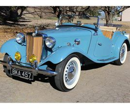 FOR SALE: 1951 MG TD IN ROSWELL, GEORGIA