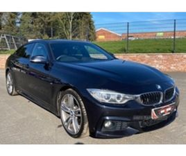 USED 2015 BMW 4 SERIES GRAN COUPE M SPORT COUPE 88,000 MILES IN BLACK FOR SALE | CARSITE