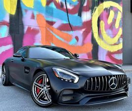 USED 2018 MERCEDES-BENZ AMG GT AMG GT C COUPE|V8 BITURBO|VENTED SEATS|EXHAUST|ALLOYS!