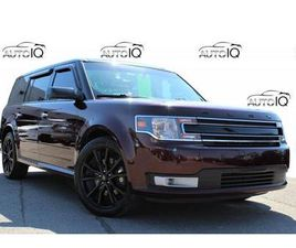 USED 2017 FORD FLEX SEL 7 PASSENGER LEATHER PANO ROOF NAVI AWD