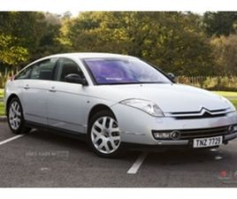 USED 2007 CITROEN C6 EXCLUSIVE SALOON 132,142 MILES IN SILVER FOR SALE   CARSITE