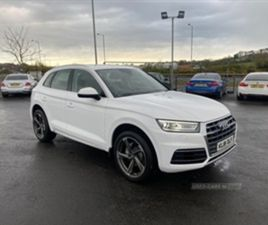 USED 2019 AUDI Q5 SPORT 40 TDI QUATTRO S NOT SPECIFIED 26,000 MILES IN WHITE FOR SALE | CA
